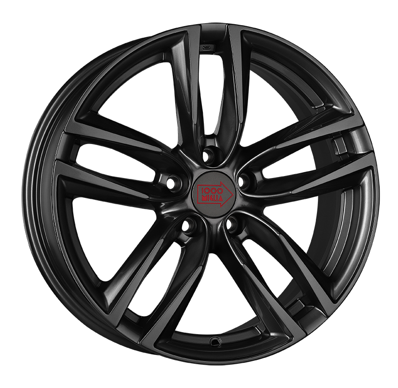 R16 5x112 7J ET42 D57,1 1000 Miglia MM1011 Dark Anthracite High Gloss